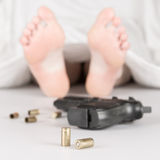 Woman murdered Stock Photos