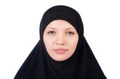 Woman with muslim burqa Royalty Free Stock Photo
