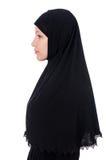 Woman with muslim burqa Stock Photo