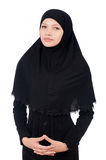 Woman with muslim burqa Royalty Free Stock Photography