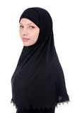 Woman with muslim burqa Royalty Free Stock Images