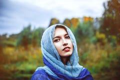 Woman is Muslim Stock Photos