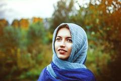 Woman is Muslim Stock Image