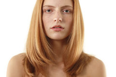 Woman natural beauty Royalty Free Stock Photos