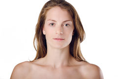 Woman Natural Beauty and Health Royalty Free Stock Images