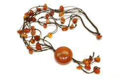 Woman necklace Stock Photos