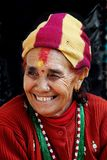 Woman in Nepal Stock Photography