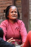 Woman from Nepal Stock Photography