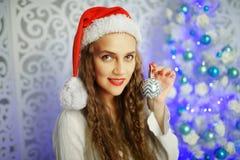 Woman new year Imágenes de archivo libres de regalías