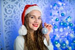 Woman new year Imagen de archivo libre de regalías