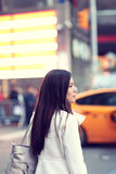 Woman in New York Stock Photography