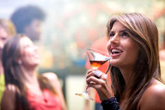 Woman night out Royalty Free Stock Images