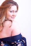 Woman nightdress Stock Image