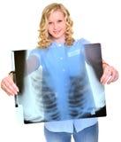 Woman nurse working Stock Image