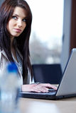 Woman in the office Royalty Free Stock Photography