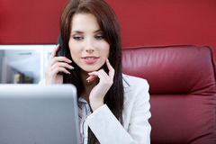 Woman in the office Stock Image
