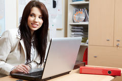 Woman in the office Stock Photography