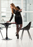 Woman in office Stock Photo
