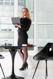 Woman in office Royalty Free Stock Photo