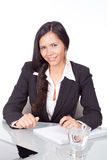Woman at the office Royalty Free Stock Images
