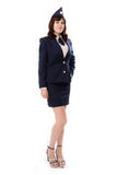 A woman officer Royalty Free Stock Photography