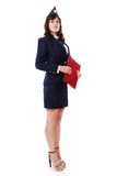 A woman officer Royalty Free Stock Photos