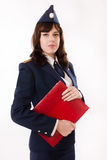 A woman officer Royalty Free Stock Photo