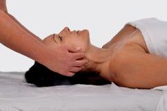 Woman On Massage Table Stock Image