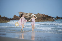 Free Woman On The Beach Royalty Free Stock Image - 91523596