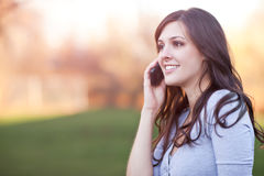 Free Woman On The Phone Royalty Free Stock Photo - 18585205
