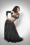 Woman oriental dancer dress Stock Images