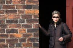 Woman outdoor Royalty Free Stock Photos