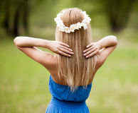 Woman outdoor Royalty Free Stock Photography