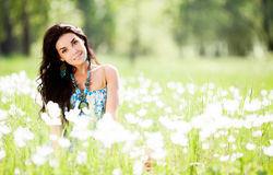 Woman outdoor Stock Image