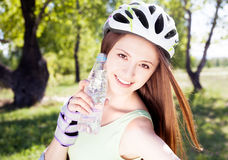 Woman outdoor Stock Photography