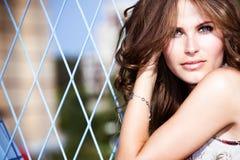 woman outdoor portrait Stock Image