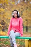 Woman at outdoor Stock Photos