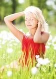 Woman outdoors Stock Photos