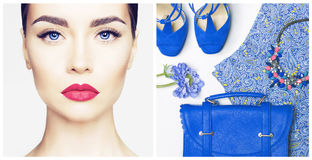 Woman outfit Stock Images