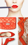 Woman outfit Royalty Free Stock Images
