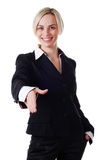 Woman in pantsuit Stock Photos