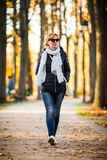 Woman in the park Royalty Free Stock Photography