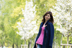 Woman in the park Stock Photos