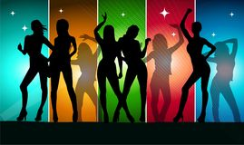 Woman party Royalty Free Stock Photos
