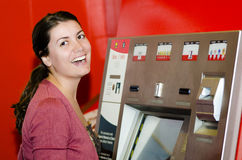 Ticket Machine Stock Image