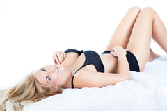 Woman with perfect body Royalty Free Stock Image