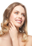 Woman with perfect healthy skin Royalty Free Stock Images