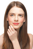 Woman with perfect healthy skin Royalty Free Stock Photography