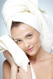 Woman with perfect skin. Spa concept Stock Image
