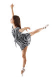Woman performing a dance Stock Photo